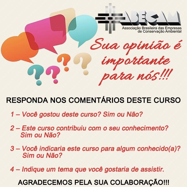 Sua Opinião é Importante para Nós!!!